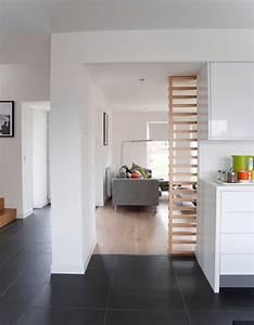 Bodenbelag Für Wohnzimmer : bergang fliesen zu parkett in offenen bereichen haus ~ Michelbontemps.com Haus und Dekorationen