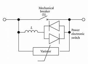 General Schematic Of Hybrid Circuit Breaker