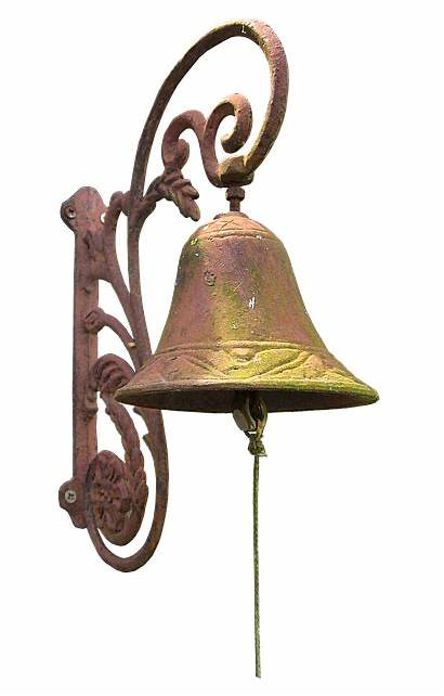 Bell Ring Metal Antique Ornament Setting Quick