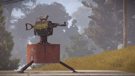 turret auto rust damage guide building rustafied dev
