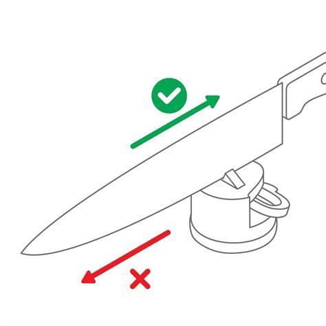 meilleur couteau de cuisine du monde anysharp aiguiseur ingénieux et efficace coloris vert vif
