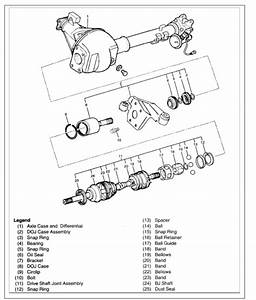 Ty 9118  Isuzu Trooper Front Drive Axle Assembly And Part