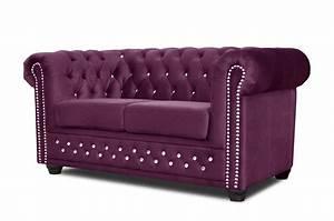 Chesterfield Sofa 4 Sitzer : chesterfield sofa 3 2er sitzer sessel garnitur couch stoff fuchsia b rom bel ebay ~ Bigdaddyawards.com Haus und Dekorationen