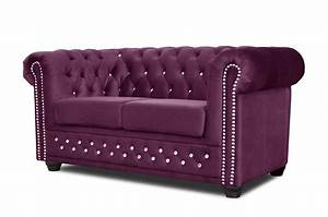 Chesterfield Sessel Stoff : chesterfield sofa 3 2er sitzer sessel garnitur couch stoff fuchsia b rom bel ebay ~ Markanthonyermac.com Haus und Dekorationen
