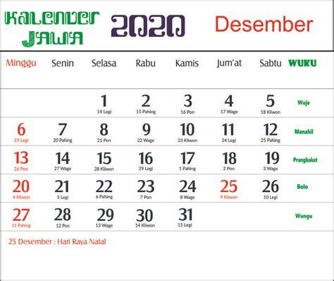 kalender  indonesia jawa lengkap  bulan