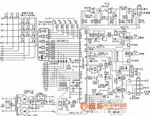 Anbaolu Microwave Safe Control Board Circuit Diagram
