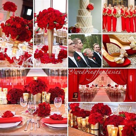 pretty red wedding theme hopeless romantic pinterest