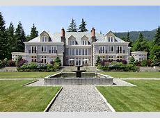 A Luxurious English Manor Estate in British Columbia, Canada