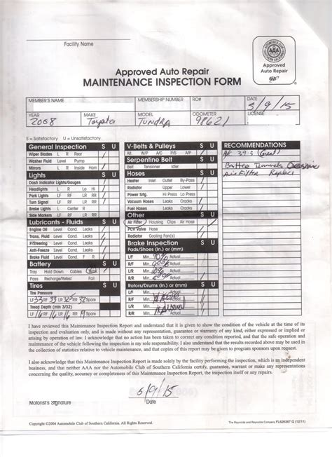 dmv brake and light inspection near pre purchase inspection form used from aaa yelp