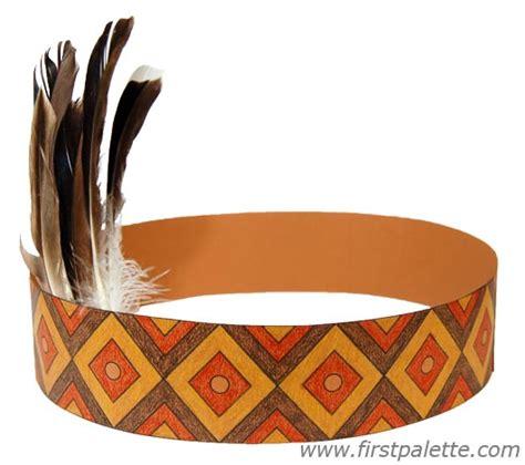Indian Headdress Template by American Headband Craft Crafts