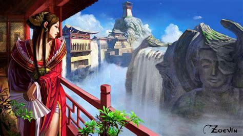 Anime Artwork Wallpaper - landscapes digital artwork anime anime