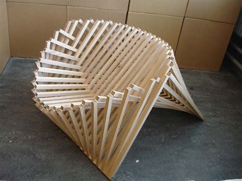 Woody Chair Design, Unique Wood Chair Designs