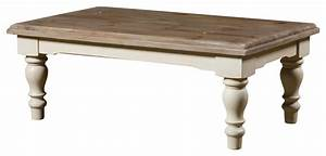french country solid wood coffee table with turned legs With turned wood coffee table legs