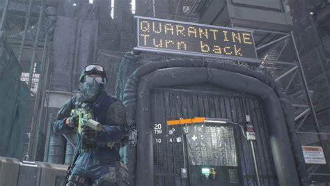 division zone dark quarantine cut throat vg247 promise