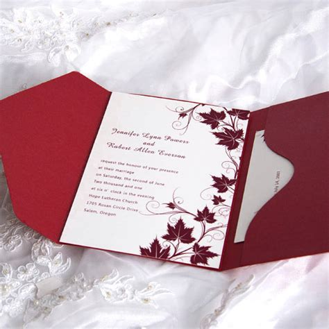 fancy wedding invitations fancy winery pocket wedding invitation ewpi007 as low as 1 69