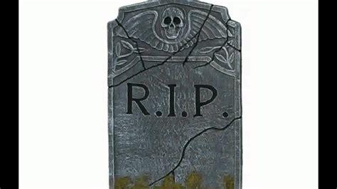 halloween decorations tombstones youtube