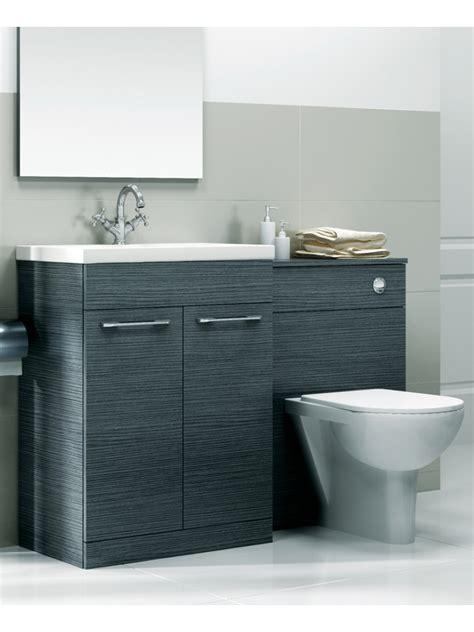 grey slimline 60cm combination unit 2 door