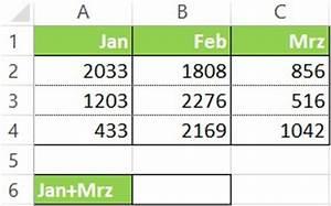 Excel Zelle Berechnen : excel summe funktion oder formel erkl rung am beispiel ~ Themetempest.com Abrechnung