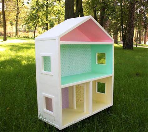 wooden dollhouse bookshelf items similar to big handmade bookshelf wooden doll house
