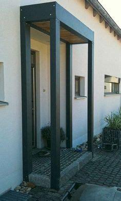 Den Hauseingang Ins Rechte Licht Ruecken by 220 Berdachung Mit Seitenteil Aus Alurohr Mit