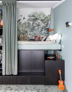 Chambre D Enfant : un triplex parisien la d co min rale elle d coration ~ Melissatoandfro.com Idées de Décoration