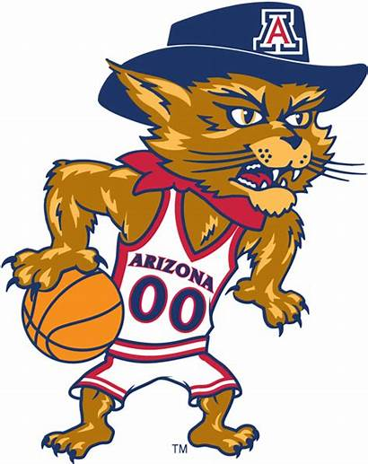 Arizona Wildcats Mascot Logos University Basketball Sports