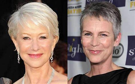 Short Haircut Images For Older Women & Pixie+Bob Fine Hair