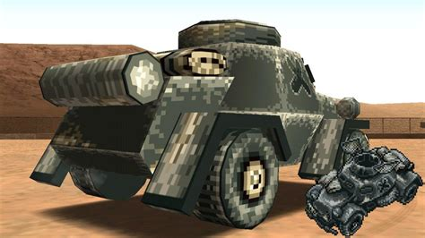 gta san andreas unused tank  metal slug mod