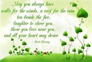 Irish Blessing Quotes Sayings
