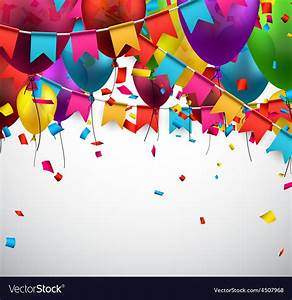 Party celebration background Royalty Free Vector Image