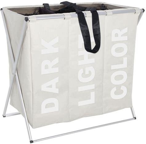 wasmand 75 liter wenko wasmand trio beige wasmand in de winkel otto