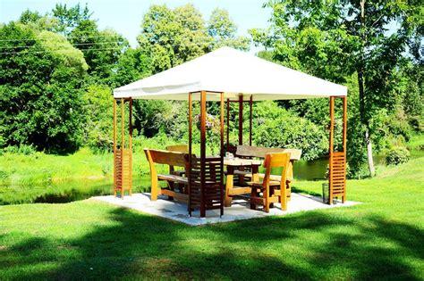 Garten Pavillon Ideen by Gartengestaltung Pavillon Ideen Wohn Design