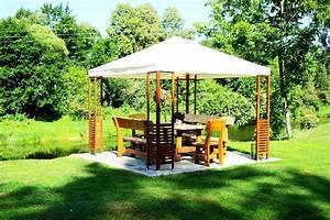 Dach Für Gartenpavillon : gartengestaltung pavillon ideen wohn design ~ Markanthonyermac.com Haus und Dekorationen