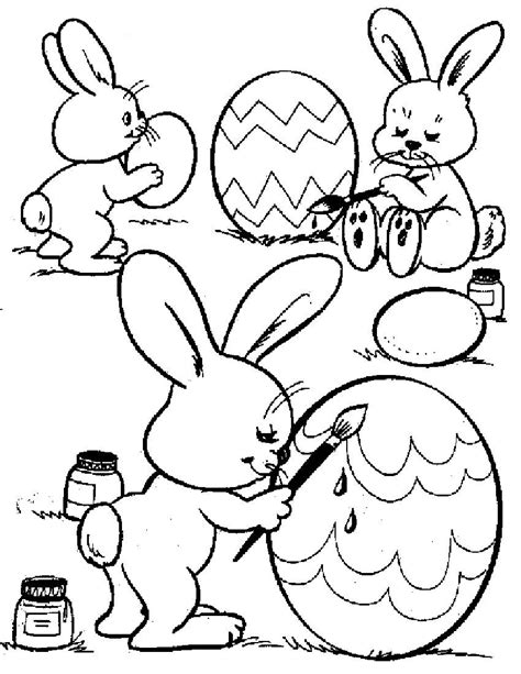 easter bunny coloring pages easter pages to color coloring pages