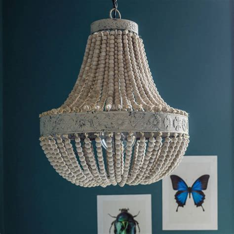 Beaded Chandelier - beaded chandeliers are everywhere right now these are