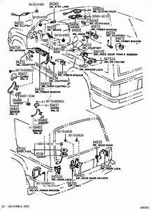Toyota 4runner Relay Assy  Power Window  W Rear Wiper
