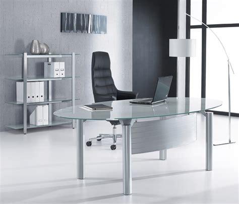 glass home office desk glass office desks executive glass desks solutions 4