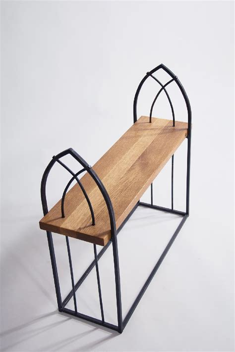 "Wrought Iron Bench ""gothic""  Creative Iron"