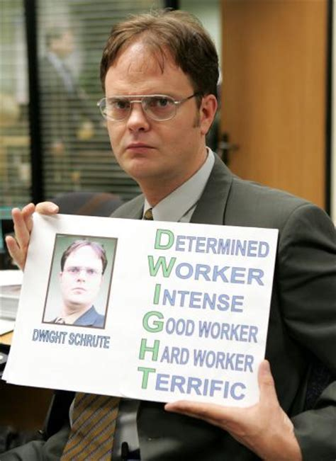 Dwight Schrute Resume Quote by Using The Disc Profile The Office And Disc Personality Styles