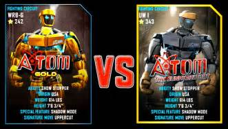 Real Steel Atom Gold