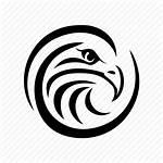 Eagle Icon Head Mexican Shape Bird Security