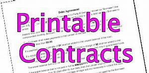 Free Printable Photography Contracts Printable Contract Free Scroll Down For Kids Contracts