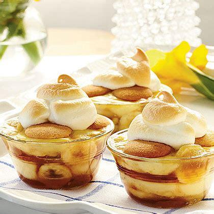 banana dessert caramelized banana pudding recipe myrecipes
