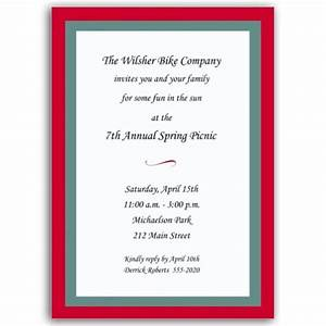 borders red and aqua invitations paperstyle With wedding invitations borders red