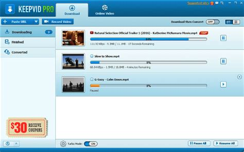 Download And Record Online Videos Free With Keepvid Pro