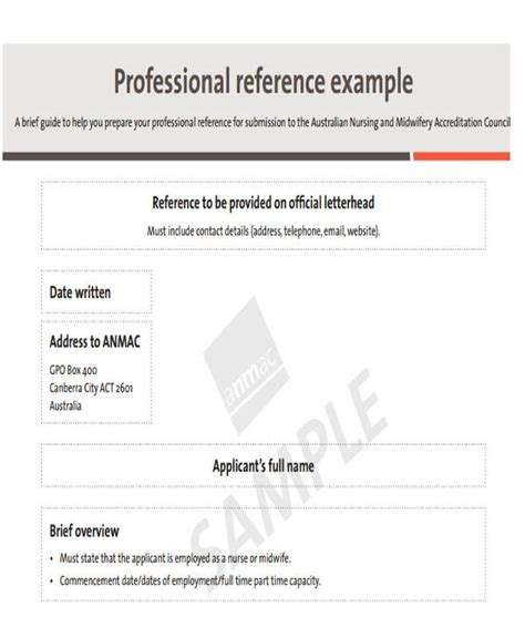examples  reference letters word google docs