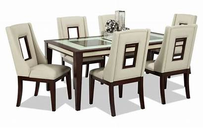 Dining Kenzo Sets Piece Furniture Table Transparent