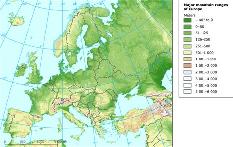 western europe mountains images