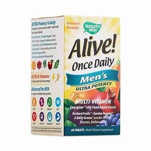 Alive  Once Daily Ultra Potency Multivitamin