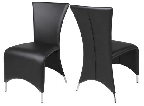 chaise noir design chaise noir